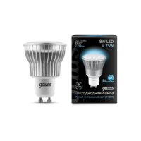 Лампа Gauss LED MR16 GU10 7W SMD AC220-240V 4100K